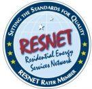 Residential Energy Services Network - RESNET Rater Member emblem